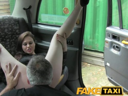 FakeTaxi Posh smart lady takes a good hard fucking